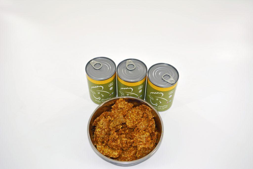 Reico CuraDog Bio Huhn mit Apfel 400 g Dosen